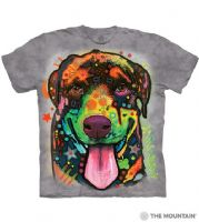 Rottie Pup T-shirt | Dog T-shirts | The Mountain® | Dean Russo